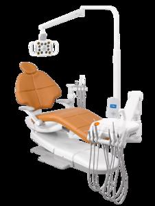 A-DEC 500, стоматологическая установка с нижней подачей инструментов фото