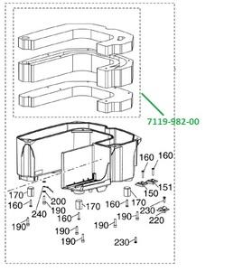 Фильтры шумопоглощающие для VS300S фото