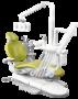 A-DEC 300P, стоматологическая установка с верхней подачей инструментов title=