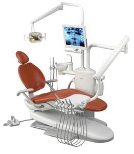 A-DEC 300P, стоматологическая установка с нижней подачей инструментов фото