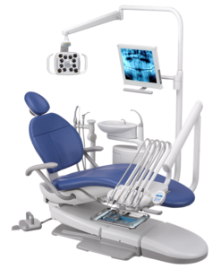A-DEC 300R, стоматологическая установка с верхней подачей инструментов фото