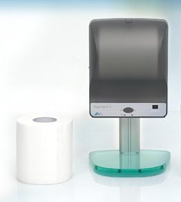 HygoWipe Plus, сенсорный диспенсер для дезинфицирующих салфеток фото