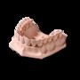 Гипс стоматологический ZERO stone (коричнево-золотой) title=